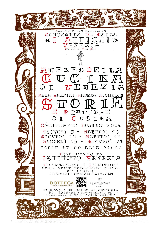 Storie e Pratiche di Cucina - In collaborazione con Istituto Venezia