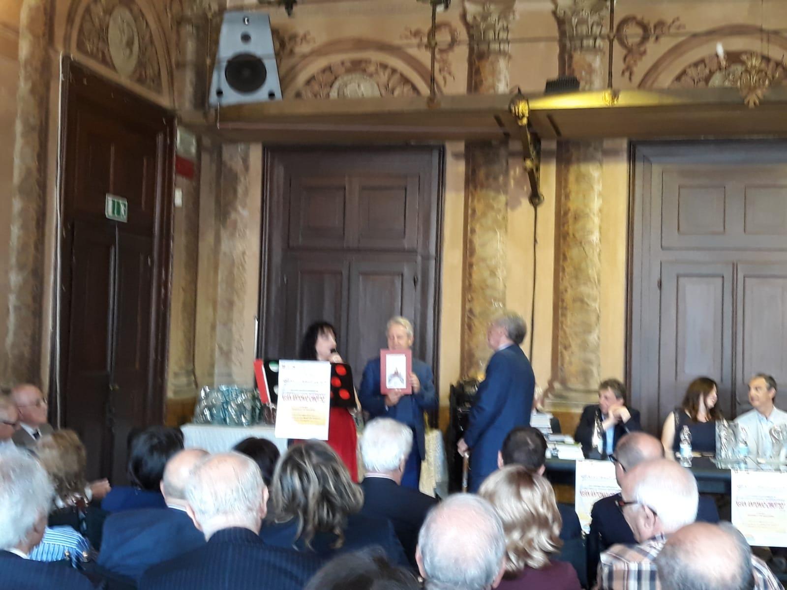 Giorgio Bertolizio premiato a Rovigo nel concorso «G.A. Cibotto».