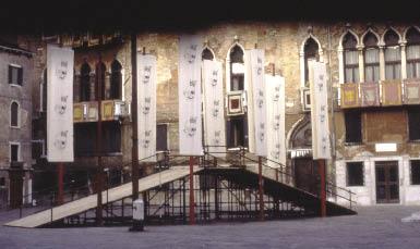 Il Ponte del Trapasso pronto all'uso (foto Jurubeba).